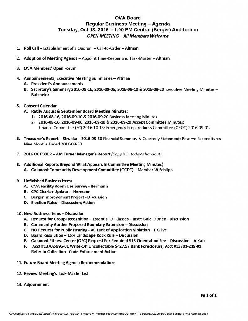 2016-10-183-business-mtg-agenda