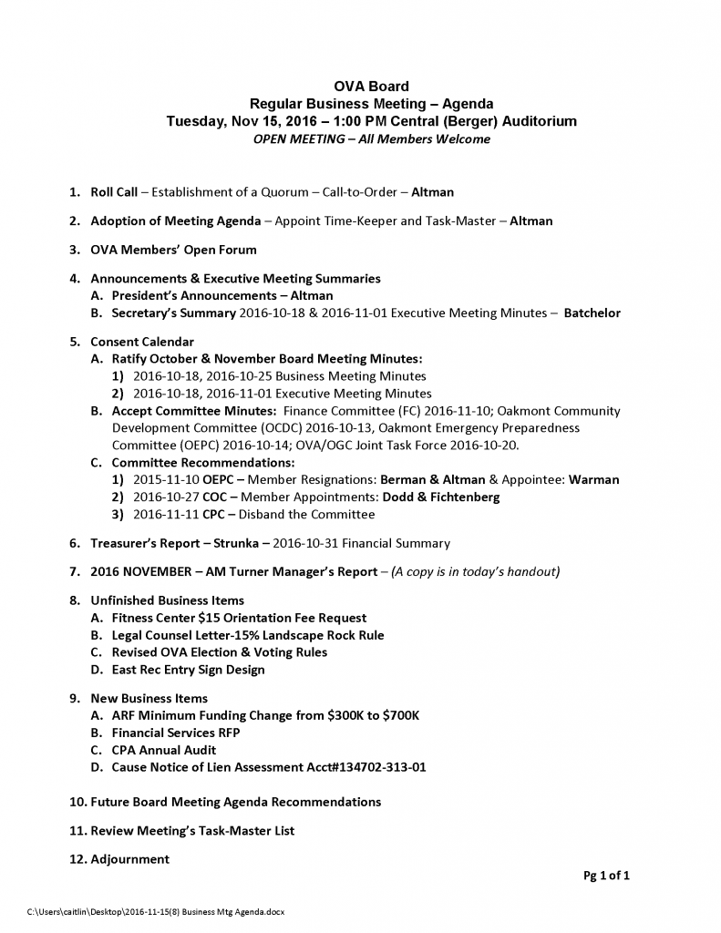 2016-11-158-business-mtg-agenda