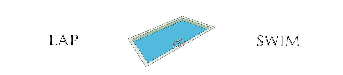 Lap Swim Banner