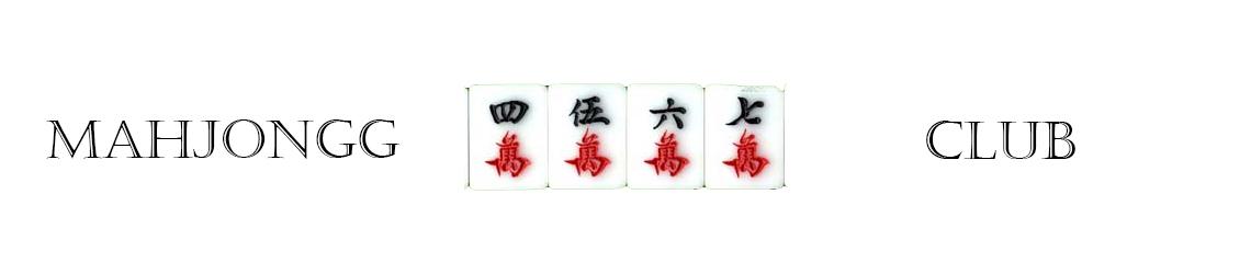 Mahjongg club banner