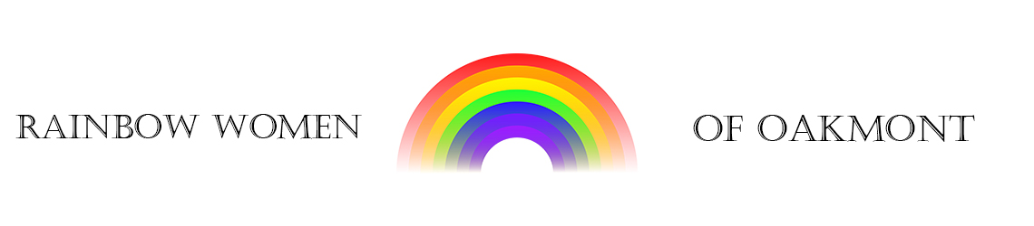 Rainbow women of Oakmont Banner