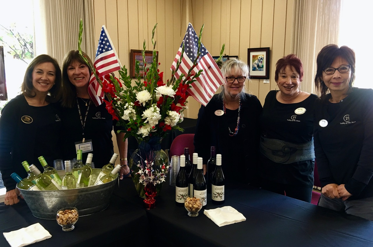 Century21 sponsor II- Old Firetruck flags and wine – 1