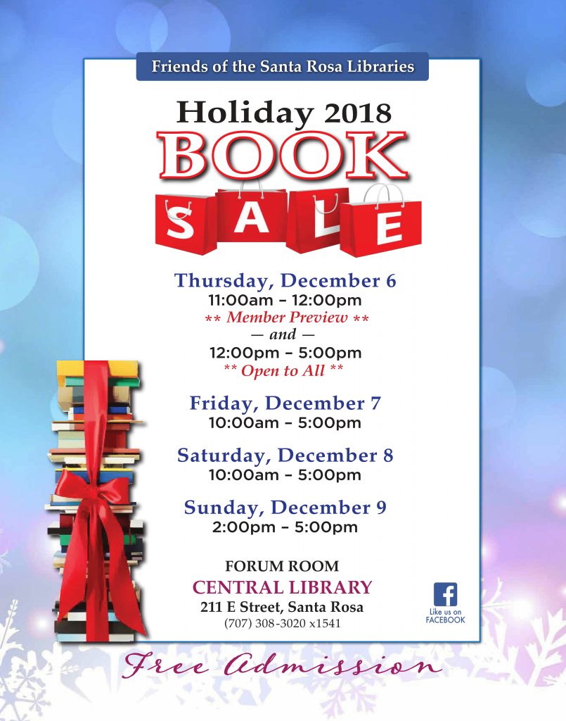 Holiday 2018 Book Sale