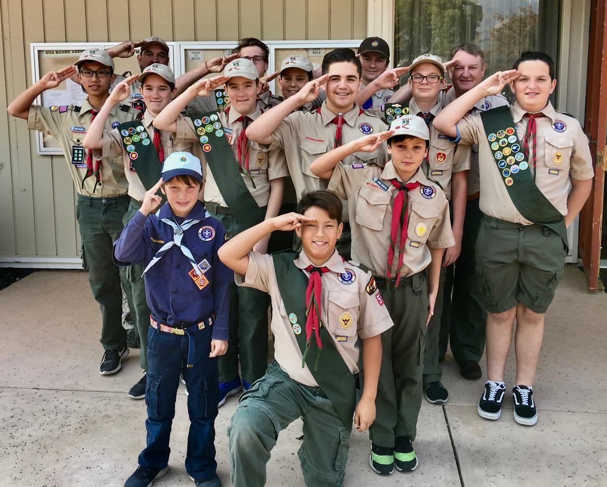 Santa Rosa Boy Scout Troup 55 – 1