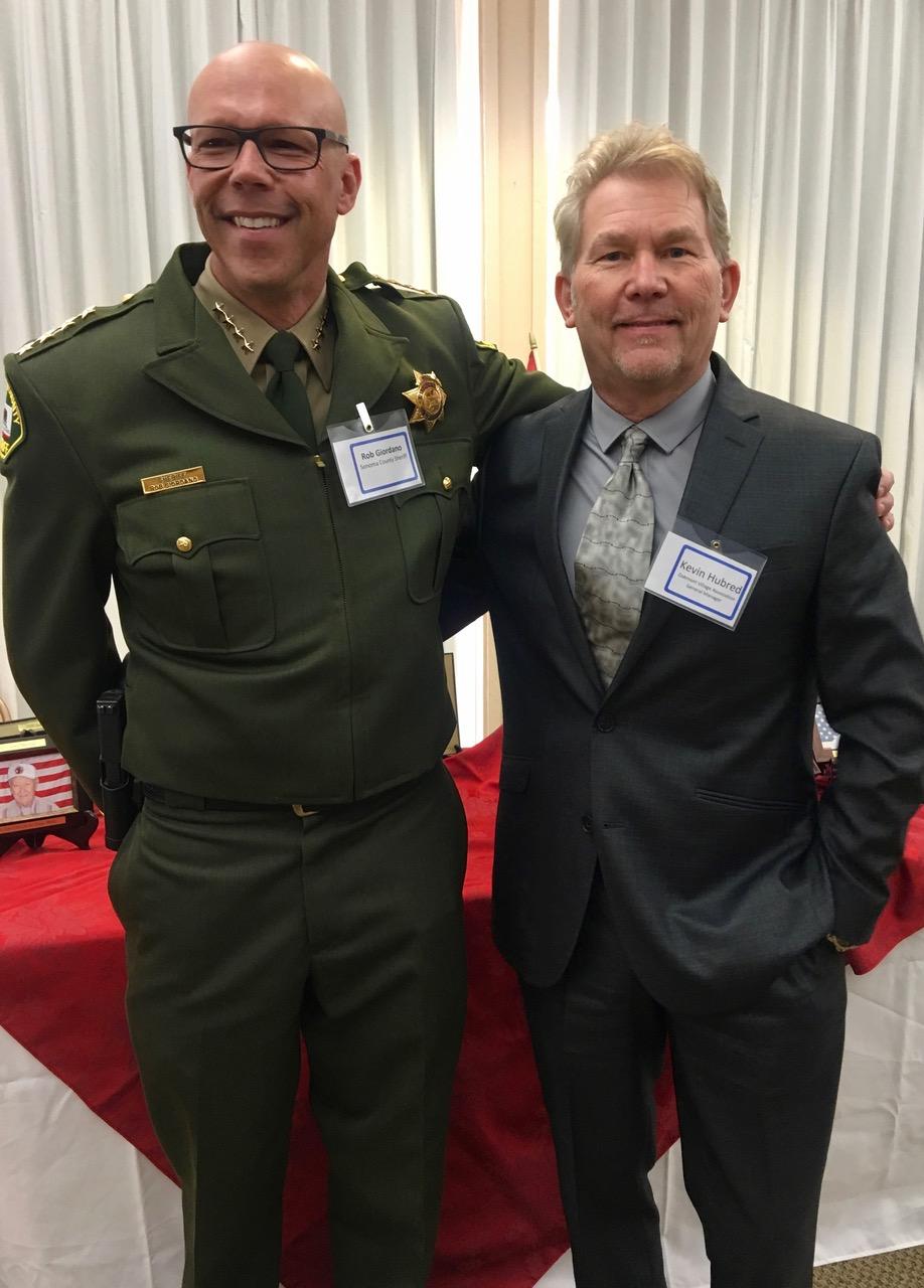 Sheriff Giodano CM K. Hubred – 1