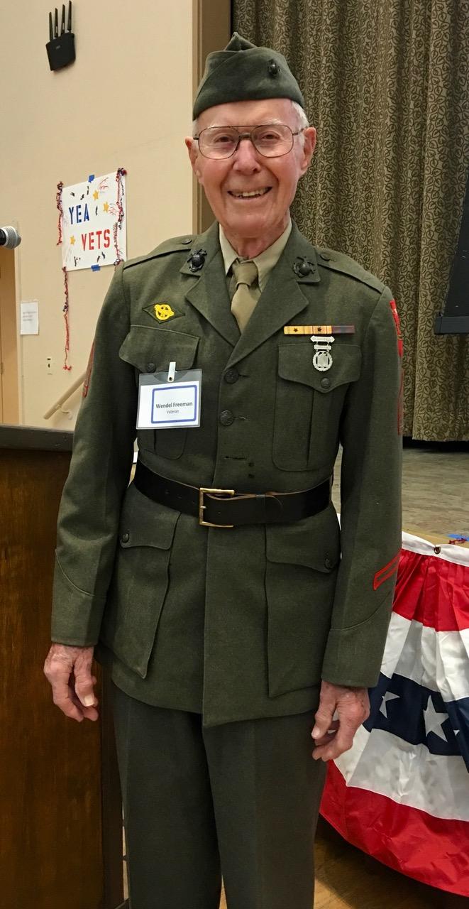 Wendell Freeman – Tech Sgt Marine Corps 96 – 1