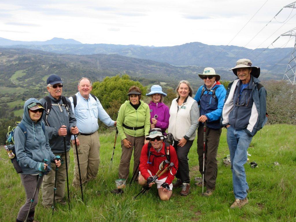 North Sonoma Mt Ridge Trail (Photo by George Hasa)