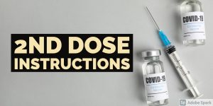 2nd Covid Dose Important Instructions