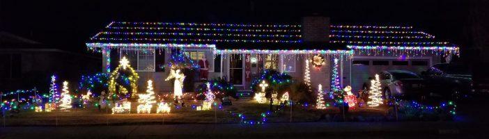 Christmas-oakmont community church lights