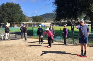 The Oakmont Pétanque Club plays every Wednesday and Saturday at 9:45 a.m. at the pétanque courts between Berger and the OVA offices.