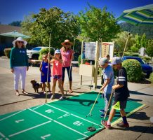 Shuffleboard was a popular activity for all ages of children in 2019.