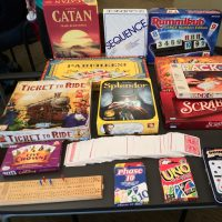 A small selection of games that we play.