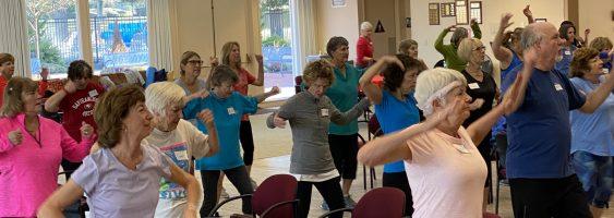 OHI Class Exercising 2021 Berger Center