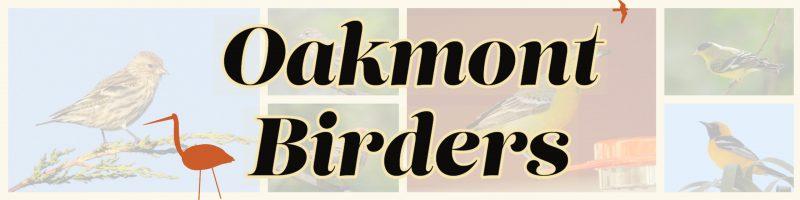 Oakmont Birders banner