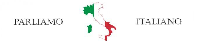 Parliamo Italiano Banner