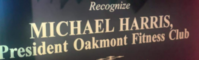 Remember Mike Harris Plaque banner
