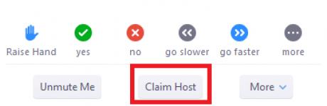 claim host screenshot