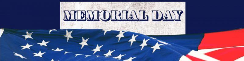 memorial day banner 2021